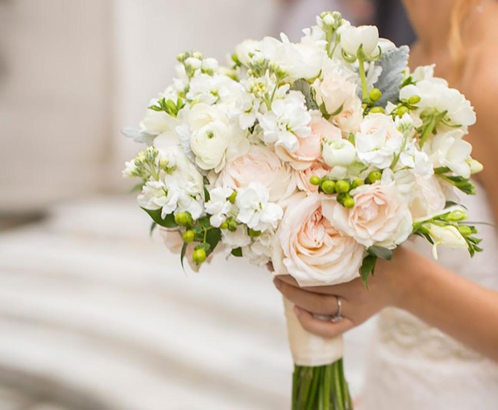 Букет невесты-чайные розы